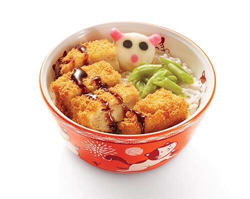 Chicken Katsu Rice Kids