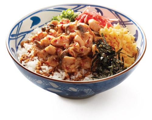 Spicy Tori Rice (*Tanpa telur)