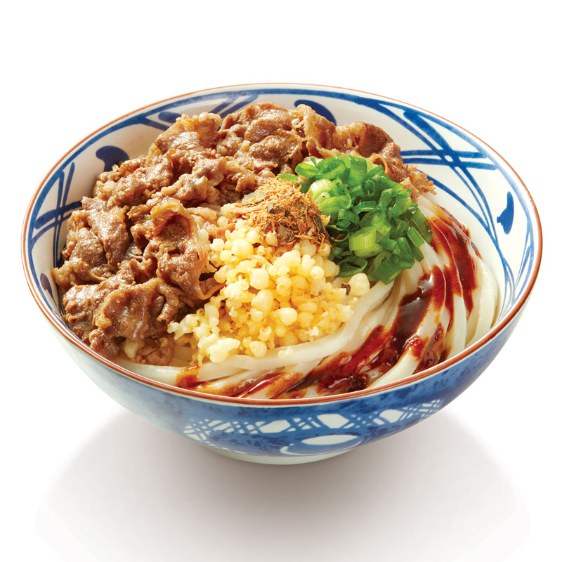 Beef Abura Udon Rp 40rb