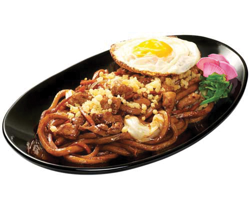 Yaki Udon Chicken<br>With Extra Fried Egg